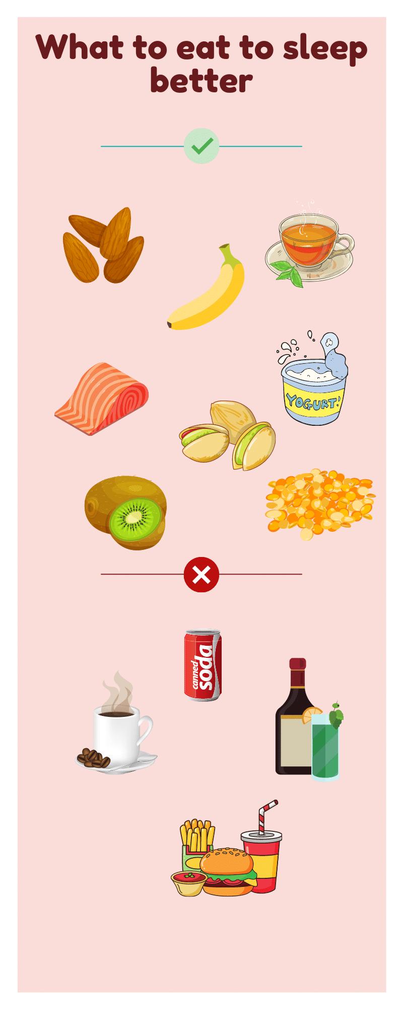 Foods to help you sleep better